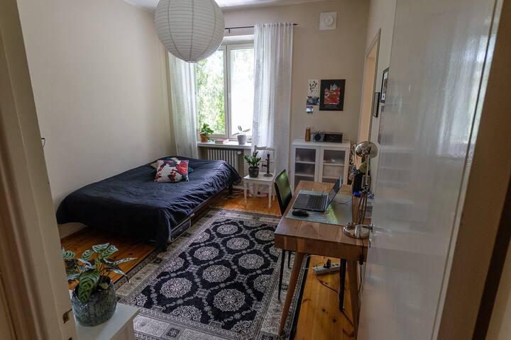Cozy studio nearby Helsinki city center