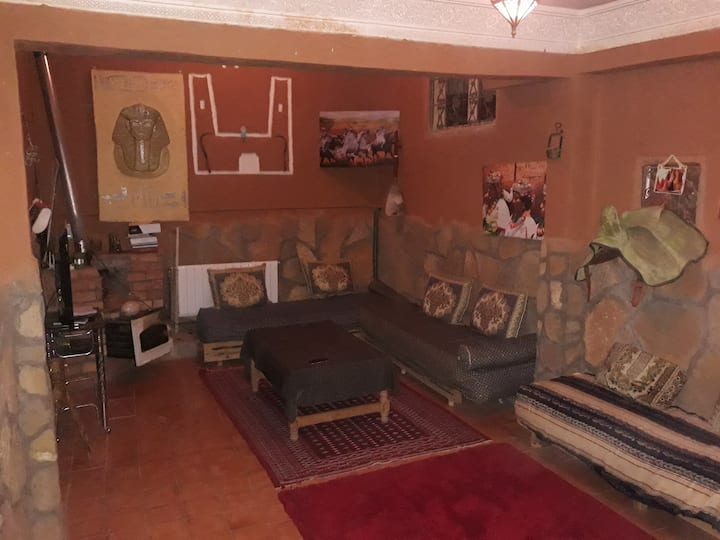 grande chambre auberge cavaliers Todra 5 Personnes