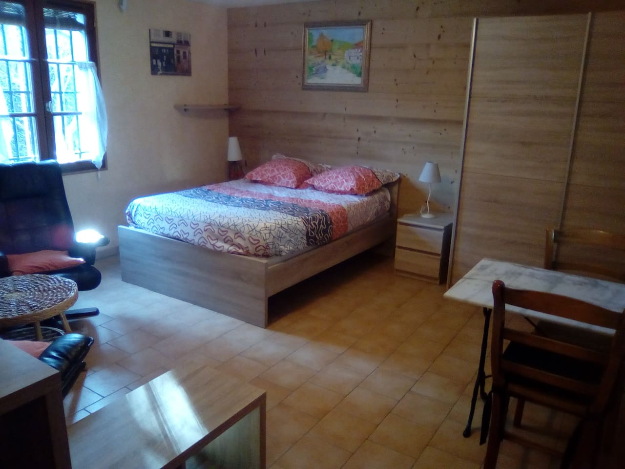 Chambre - salon / Bedroom - salon