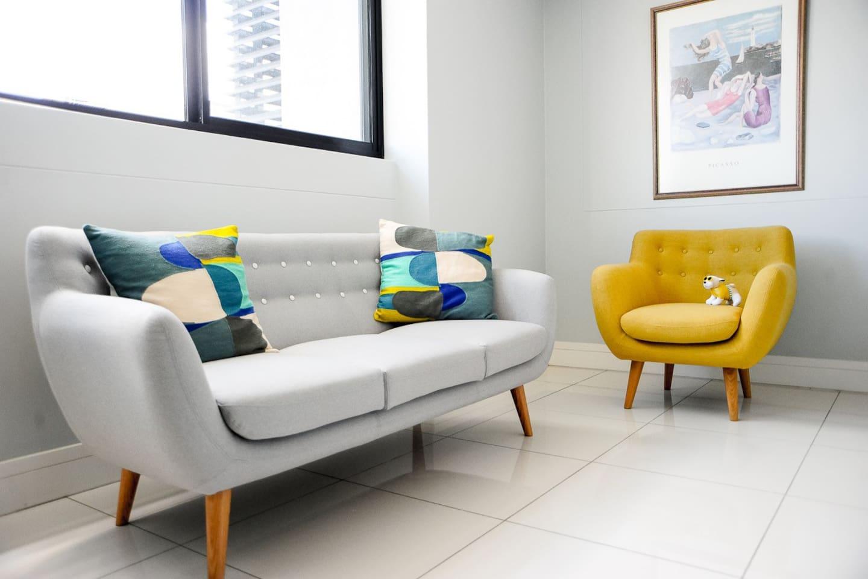 Studio 115 - living area