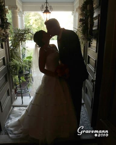 A Gone With the Wind moment at The BEALL MANSION - the place for romance.