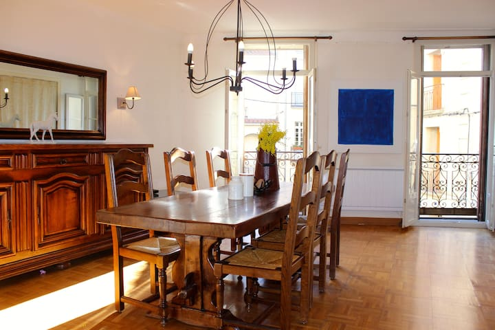 Charming Apartment Historic Centre - Céret - Leilighet