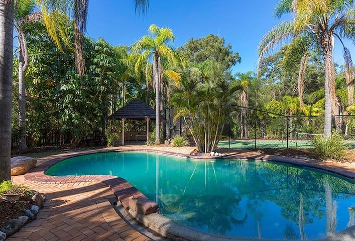 Retreat Style Room close to Brisbane & GoldCoast - Springwood - Hus