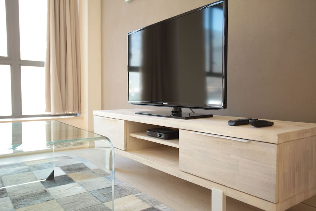 premium DSTV with sports, children's and movie channels