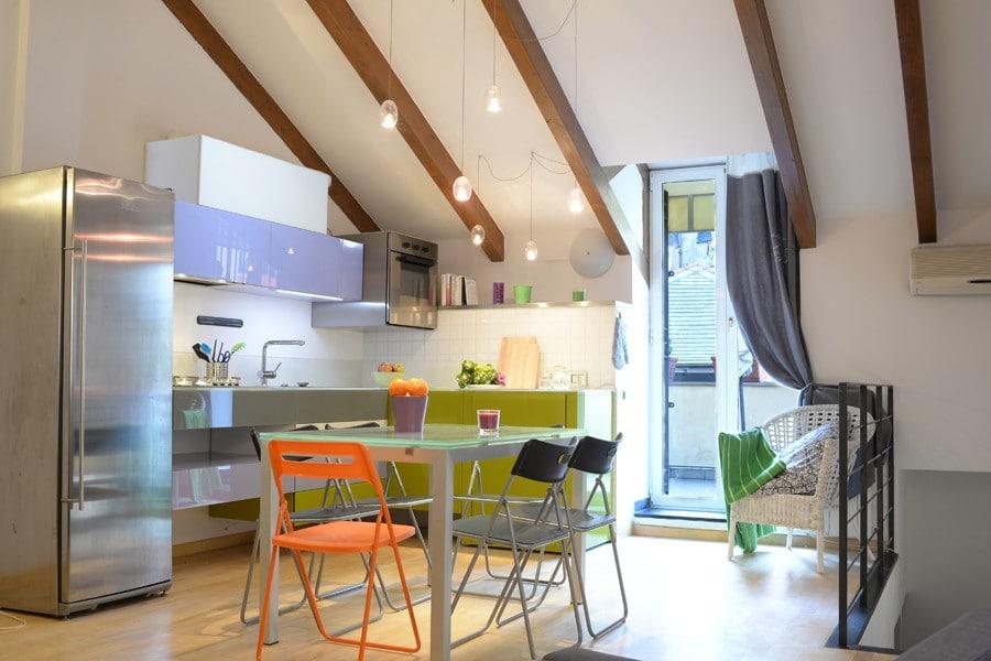 Фото 2 этажные квартиры в генуя