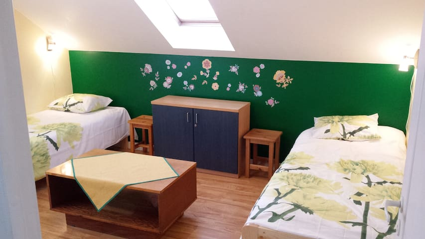 Twin room in private house near TLL - Lähtse - 獨棟