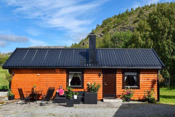 Maison de vacances pour 4 a Hasvåg