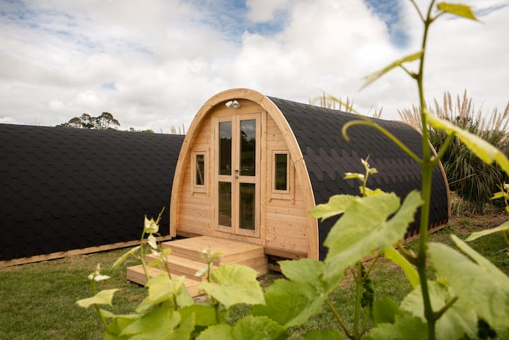 Turanga Creek's Camping Pods in the Vines