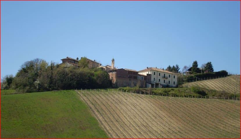 Bilocale con terrazza e piscina - Monteveneroso - Lägenhet