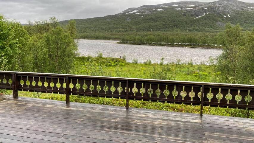 Toppheim - Hytte på Skaidi ved Repparfjordelva