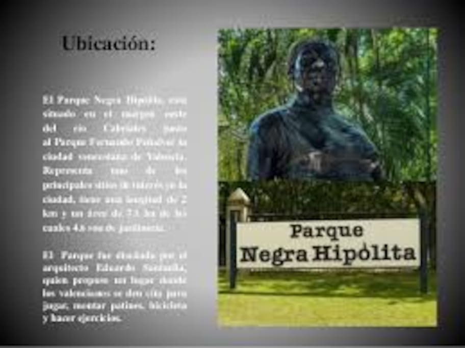 descripcion de Parque Ngra Hipolita