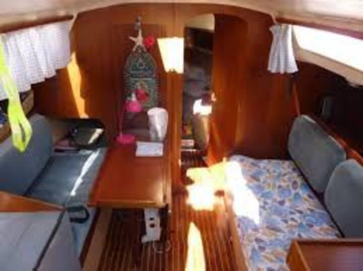 bateau appartement de 9 mètres
