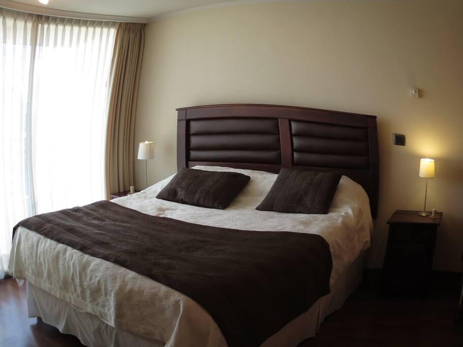 Cama top, colchón con cubierta de 1.9