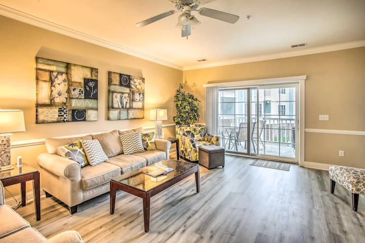 NEW! Condo w/Pool Access + Balcony in Myrtle Beach
