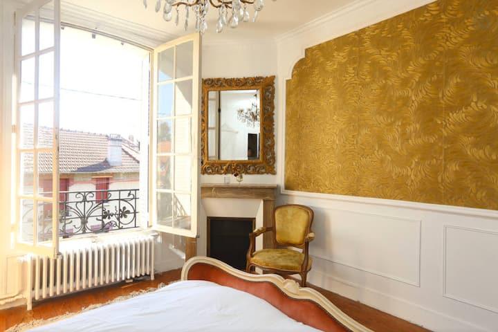 Chambre au calme à 20 min de Paris.