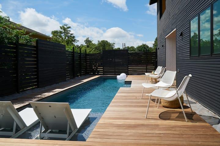 East Austin Poolside Retreat