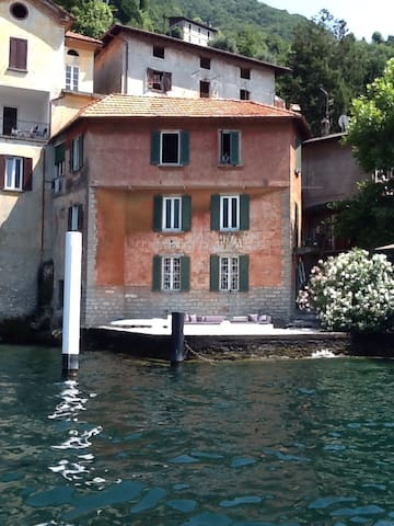 Romantico appartamento Lago di Como - Pognana Lario - Lägenhet
