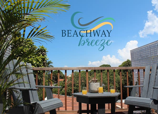 Beachway Breeze. Immaculate Executive Apartment.