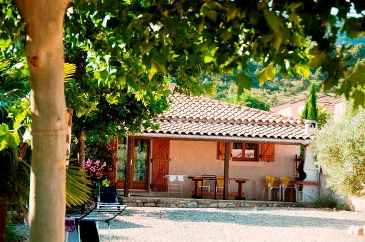 Villa de La Treille D, piscine, terrasse, bbq 8 P