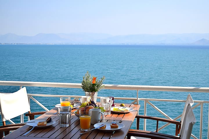 Holiday Sea View Apartment, Kiveri, near Nafplion - Kiveri
