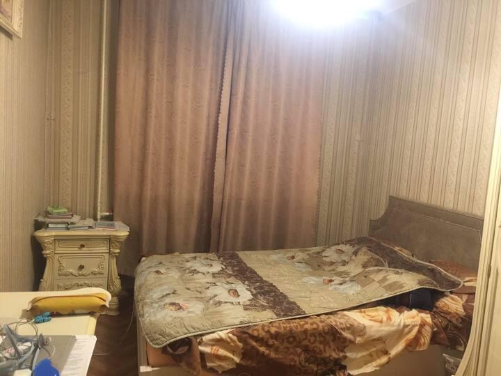 Уютная квартира в атмосферном районе