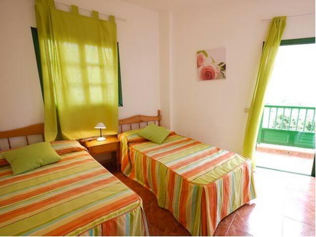 Schöne Wohnung in La Calera mit Balkon - La Calera