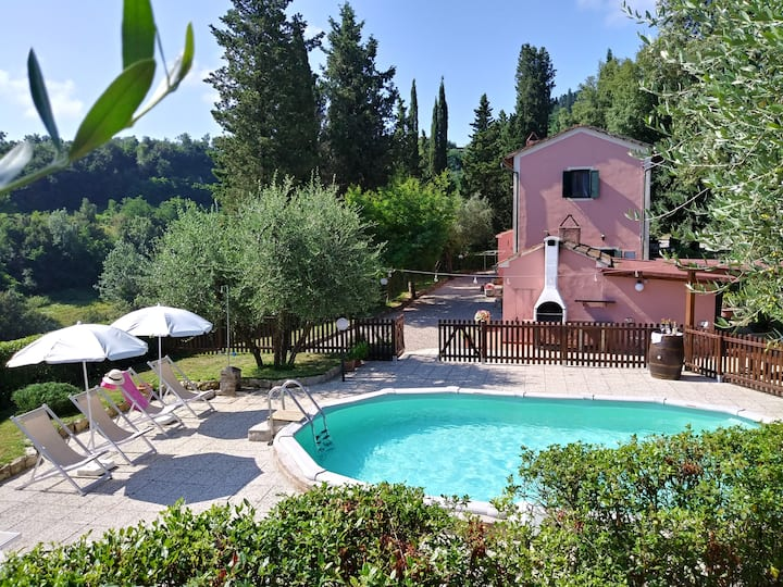 PODERE IL LECCIONE-VILLA IN THE BEAUTIFUL TUSCANY
