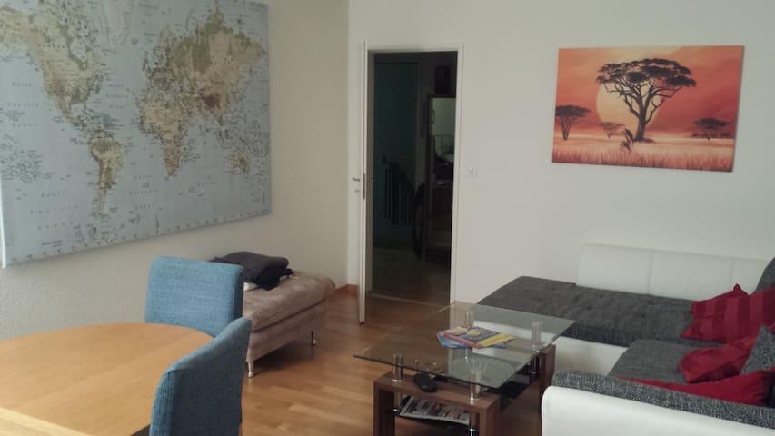 Gemütliches Zimmer 30min von Zürich