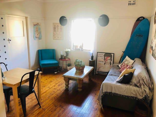 Private room in North Bondi flat.