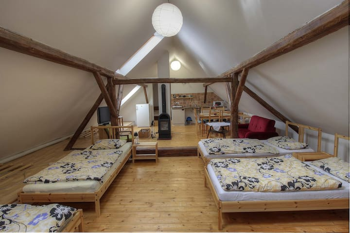 Cosy flat in calm location - Jilem - Apartamento