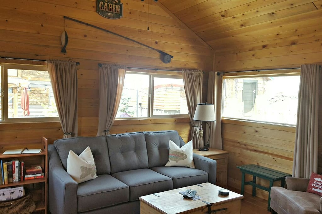 The angler cabin 5 lupine village at grand lake chalet for Cabine in affitto nel parco invernale colorado