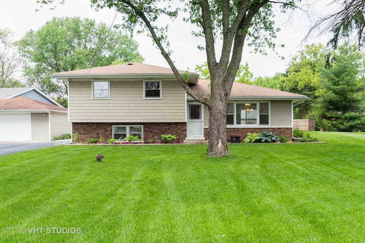Downtown Naperville  w/6 beds & huge backyard!