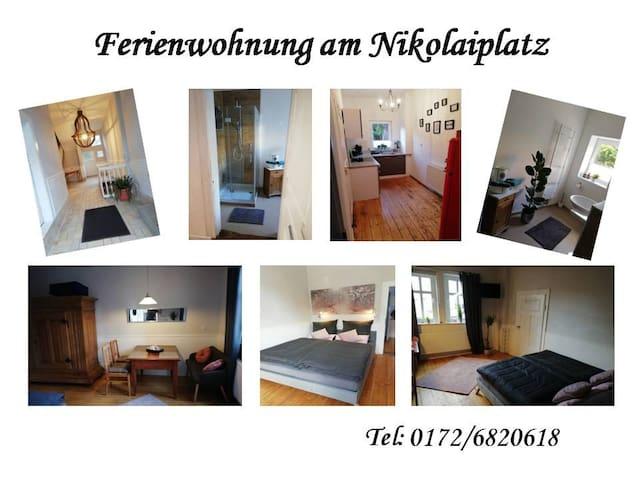 Ferienwohnung am Nikolaiplatz