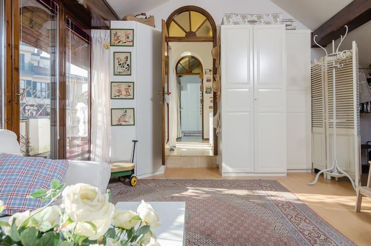 Navigli big rooms and quiet terrace - Milan - Maison