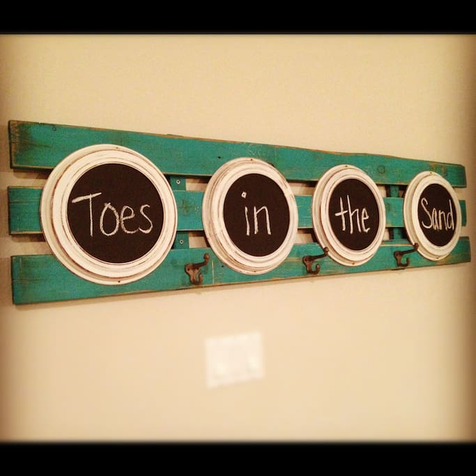Welcome to Toes in the Sand Beach House!