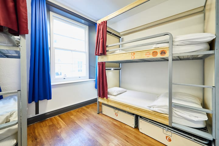Bed in 6 Bed Dorm