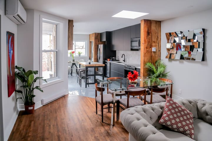 luxurious 3 bedroom Plateau Mont-Royal