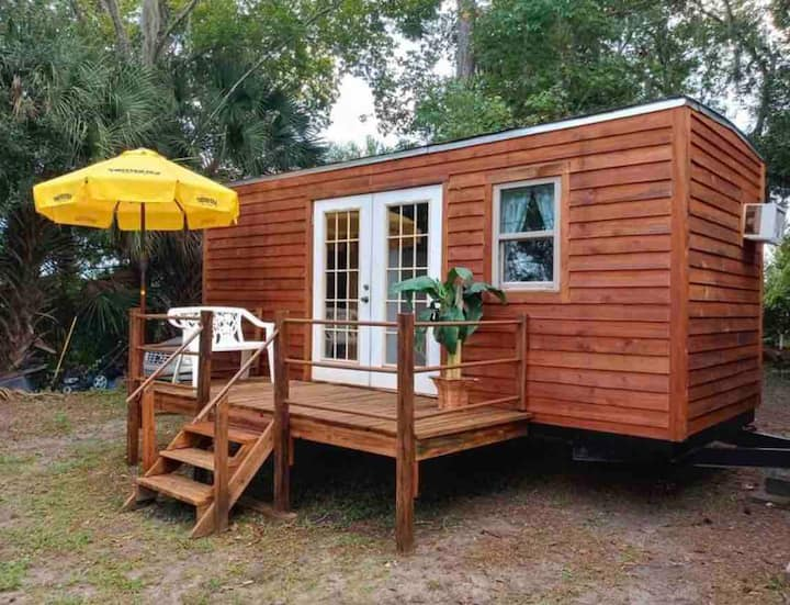 Perfectly Repurposed: Tiny Home on Rescue Farm!