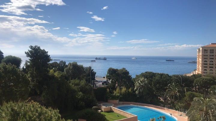 GD PRIX-UNIQUE 1 bedroom sea view balcony and pool