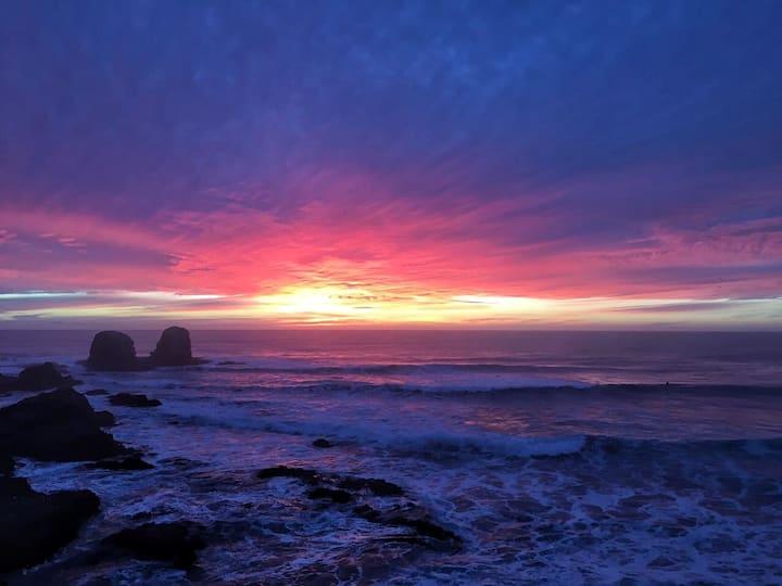 Loft doble altura en Punta Lobos con vista al mar!