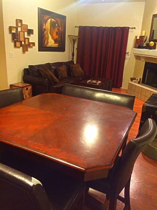 Pub Style kitchen table seats 6