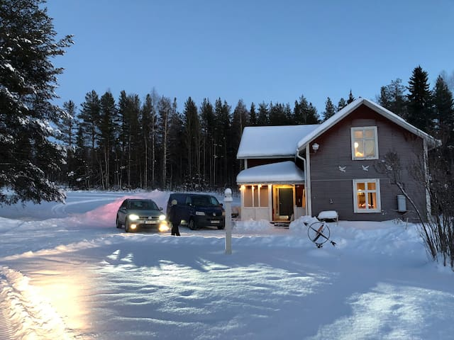 Northern Sweden forest retreat