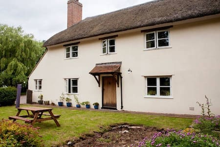 Beautiful Farmhouse Cottage, River Exe, Devon - Devon - Appartement