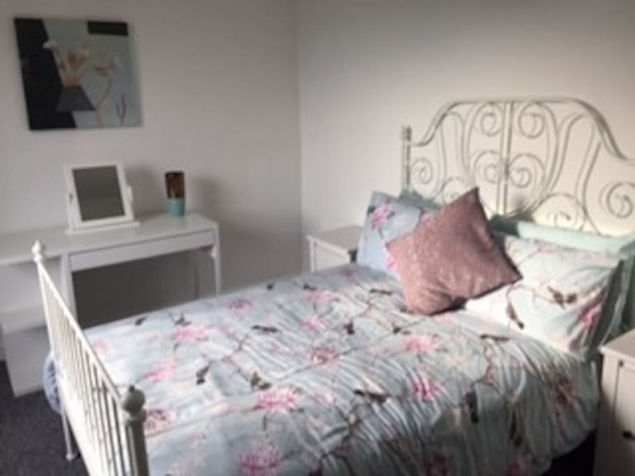 Double bedroom which is large and bright