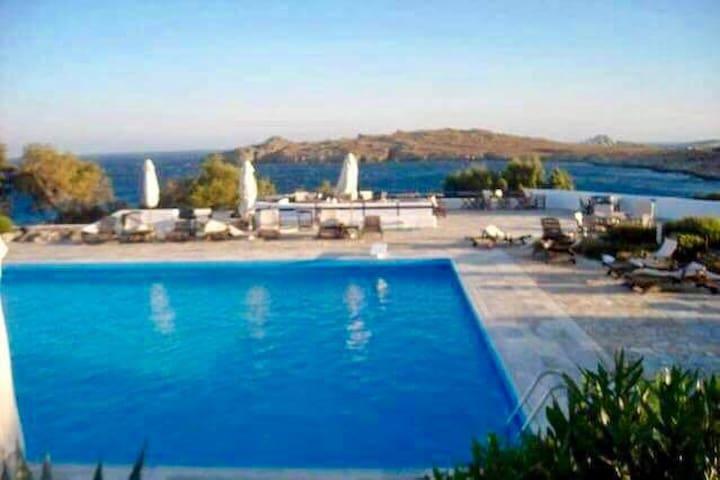 OCEAN VIEW VILLA-MYKONOS - Ornos - Villa