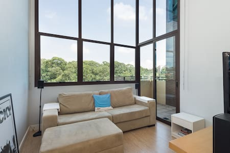 Bright, Airy, Modern and Spacious! - São Paulo - Loft