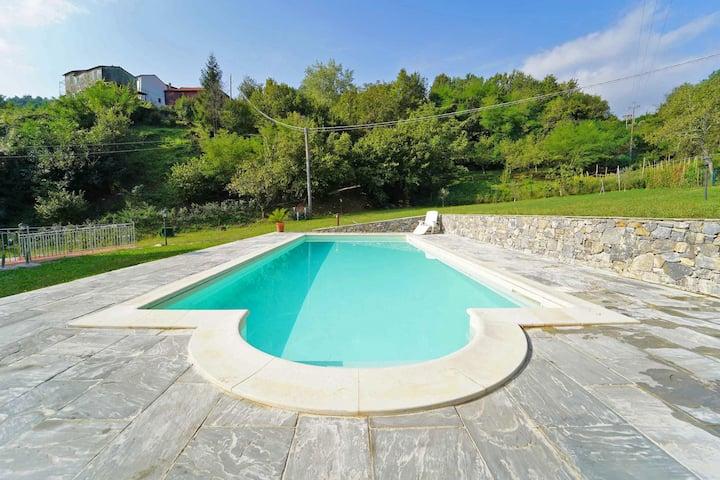 Villa Matilde 12P Pool free WiFi BBQ near 5 Terre