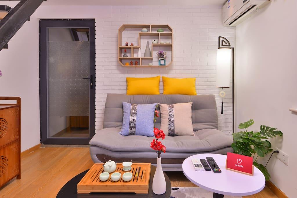 明亮温馨客厅