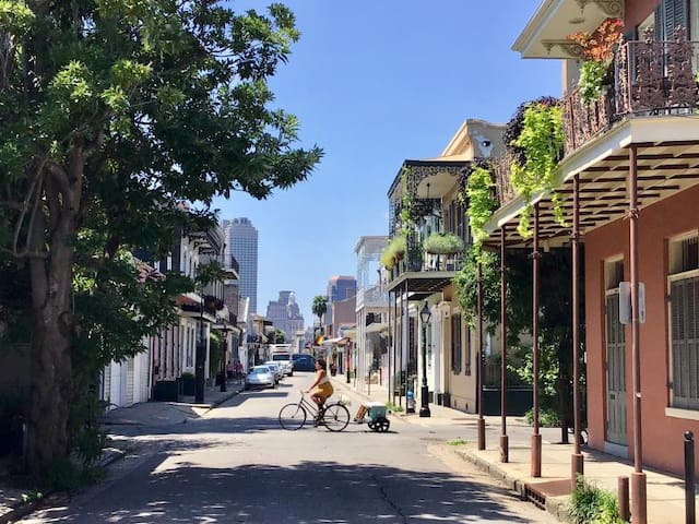 Great Deal! Chic King Unit. Walk to French Quarter