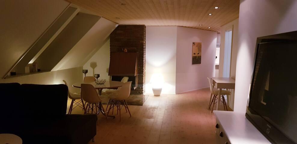 75 m2 Unik, flot  og moderne lejlighed.